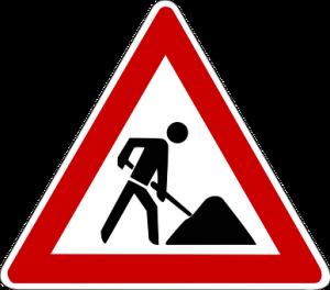 Attenzione - Lavori in corso in via Aeroporto